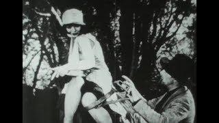 "Lost Film segment - ""The Runaway"" - Clara Bow - 1926"