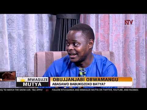 Mwasuze Mutya: Dr Nicholus Nanyeenya ku bujanjabi obwamangu