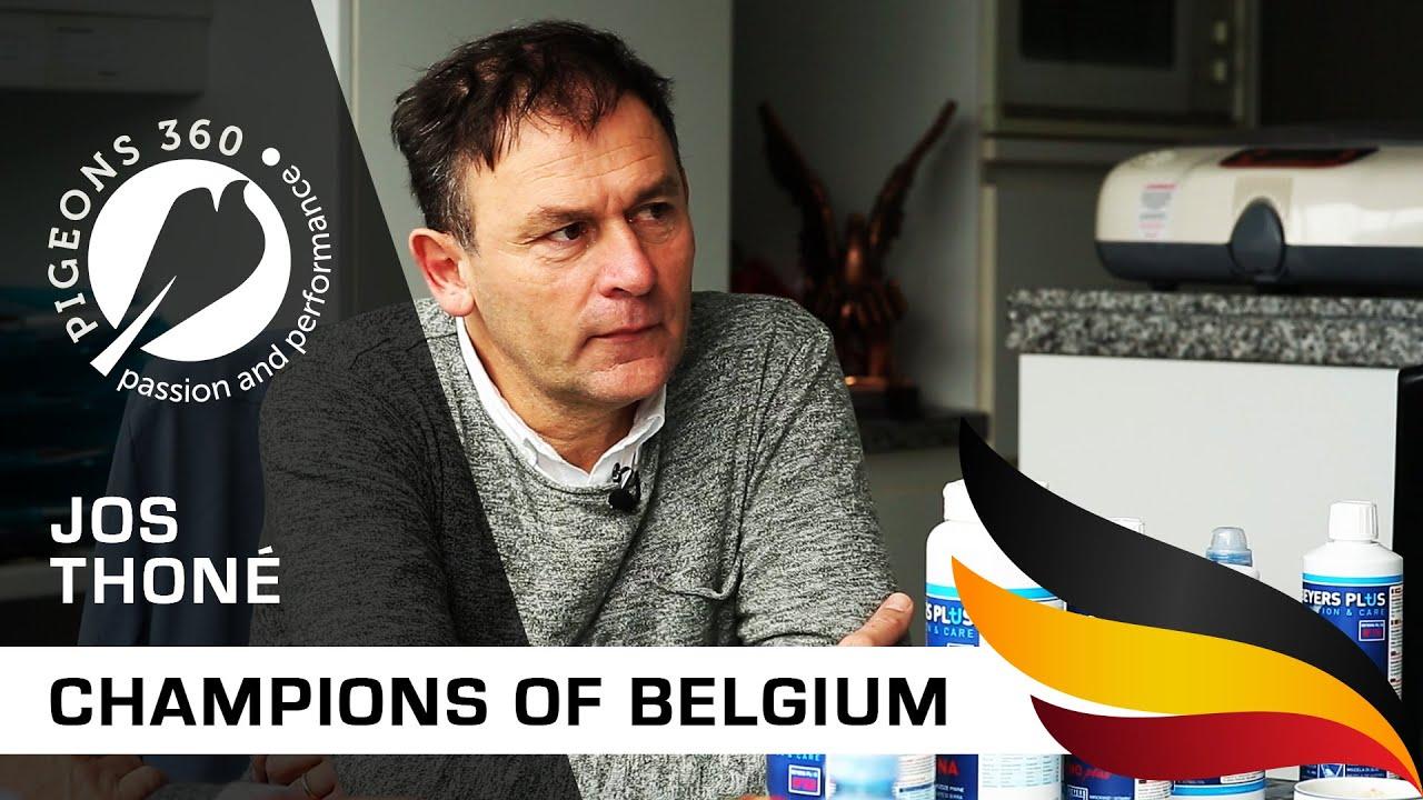 Champions of Belgium - Jos THONE