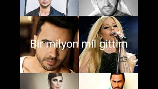 Avril Lavigne & Luis & Tamer & Hussain & Ryan & Assala- Right Where I'm Supposed to be Türkçe Çeviri