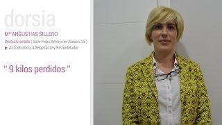 Tratamiento Anticelulitico, adelgazante y remodelador (New You) - Testimonio Mª Angustias Sillero - Clínica Dorsia Granada