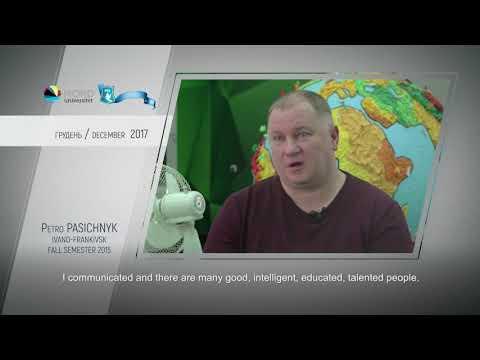 Video feedback of Petro Pasichnyk, graduate of the Ukraine-Norway project