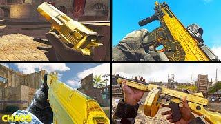 The Evolution of GOLD CAMO in Call of Duty