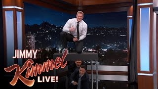 Download Youtube: J.J. Watt Jumps Over Jimmy Kimmel & Guillermo