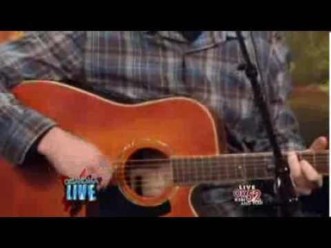 "Nate Laughlin on KSBI's Oklahoma Live - ""Kissing"""