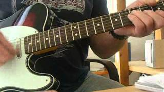 Wilko Johnson/Dr Feelgood -Roxette guitar cover