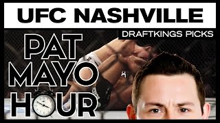 DFS MMA: UFC Fight Night Nashville DraftKings Picks & Preview