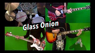 Glass Onion - Guitar, Bass, +Drum Cover - Piano and Cello - Isolated Mixes
