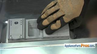 Dishwasher Detergent Lid (part #00166621) - How To Replace