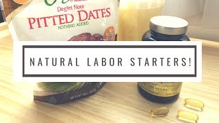 How To Start Labor || What I Use and More! #labor #startinglabor #naturallabor