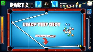 5 Shots To Kill Your Opponent!Pro To Master Tutorial! 5 Knuckle Shots w/ Pool Fanatic Cue Part 2