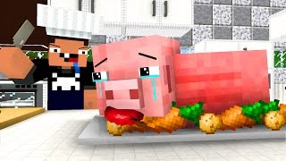 Pig Life 3   Craftronix Minecraft Animation