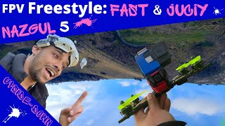 """FPV Freestyle: Usual Spot 5"""" 100+ Subscriber Rip"""