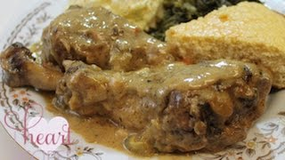 Smothered Turkey Wings, Legs, or Thighs Recipe - I Heart Recipes