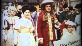 preview picture of video 'Slavnosti petilisté růže ® Český Krumlov 15.6.1969'