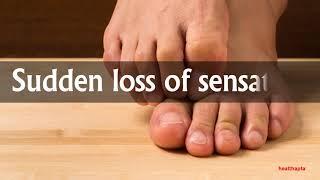 SYMPTOMS OF TOE NUMBNESS