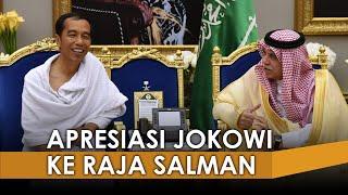 Jokowi Ucapkan Terima Kasih kepada Raja Salman Adanya Tambahan 10 Ribu Kuota Haji