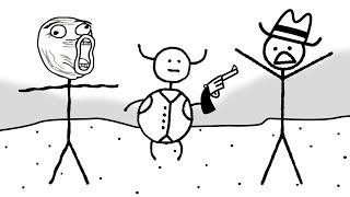 STICK MEN AND SPIT BUCKETS | West of Loathing
