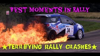 TERRIFYING RALLY CRASHES! | Rally Fails  | Rally Crashes | 🔥