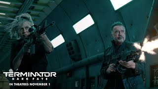 VIDEO: TERMINATOR: DARK FATE – Extended Red Band TV Spot
