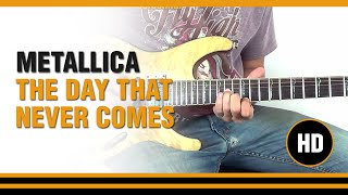 How to play The Day That Never Comes from METALLICA - Electric Guitar GUITAR LESSON