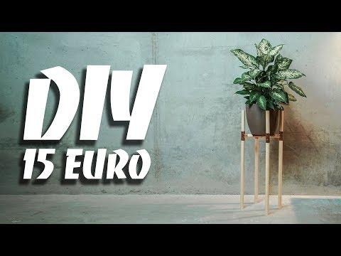 DIY PFLANZENGESTELL - minimalistisch und einfach | EASY ALEX