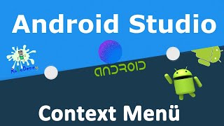 Android Studio ile Context Menü Oluşturma