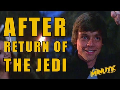 What Happened After Return of the Jedi (Canon) - Star Wars Explained