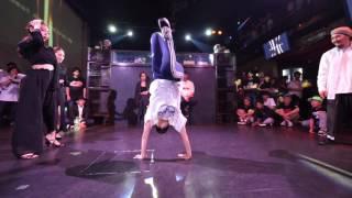 ちゃんなな+idonity vs DownzKnu BEST4 Beat Around vol.18 慶應大 ダンスサークル Revolveイベント