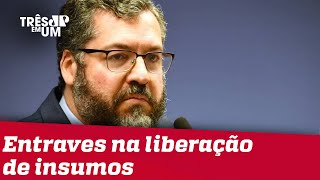 Atrito entre Brasil e China pode resultar na demissão de Ernesto Araújo