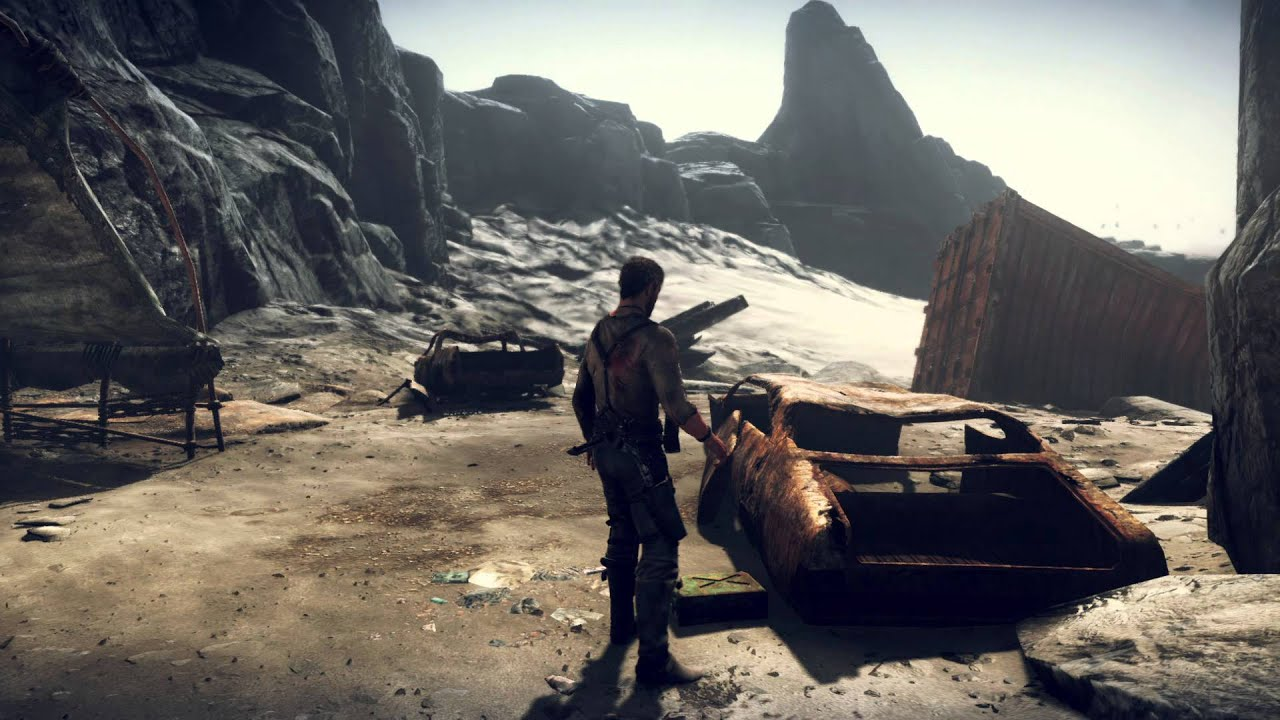 Primer Vistazo al Gameplay de Mad Max
