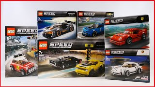 LEGO SPEED CHAMPIONS 2019 SETS COLLECTION/COMPILATION