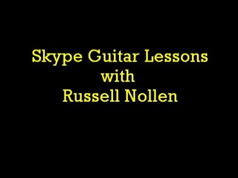 An introduction to Skype lessons with Russell Nollen
