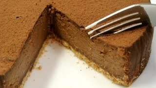 No Talk cooking 7 : Easy Chocolate Tart (cheat?)