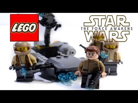 Vidéo LEGO Star Wars 75131 : Pack de combat de la Résistance