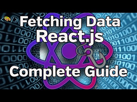React.js - How to Fetch Data (feat. React Hooks, Render Props)