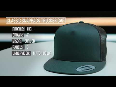 6006 Classic Snapback Trucker Cap