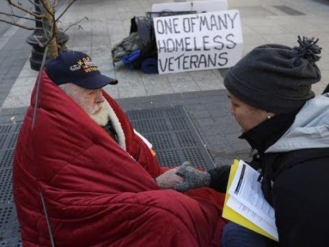 Шокирующая нищета американских ветеранов