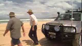 Powerful 4x4 sand driving Safely