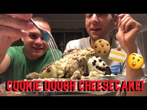 COOKIE. DOUGH. CHEESECAKE. 🍪🍰😲 Eat With Us!