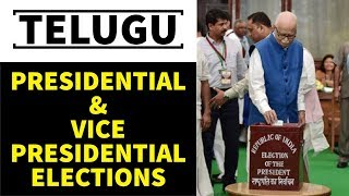Telugu - How the president and vice president of India are elected? - Polity - APPSC/TSPSC