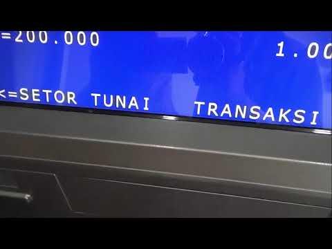 CARA BARU MENABUNG KE REKENING SENDIRI LEWAT ATM BANK BRI