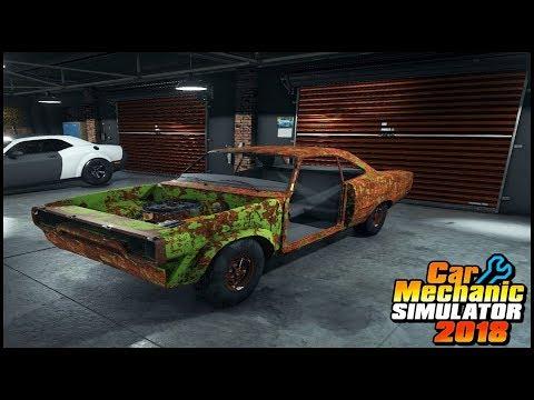 Car Mechanic Simulator 2018 : SuperCharger Engine Dodge Challenger