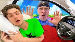 I DROVE A LIMO 24HRS STRAIGHT TO UNSPEAKABLES HOUSE!!