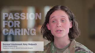 Military Health System Celebrates 2018 National Nurses Week | 2nd Lt. Amy Holpuch