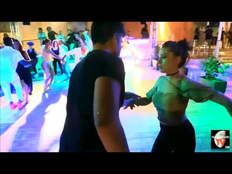Valeria Naticchi y Massy Pioly - bailando Parecen Viernes | Marc Anthony