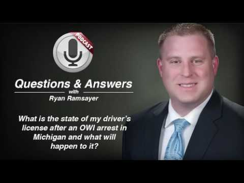 video thumbnail State of Driver's License after Michigan OWI