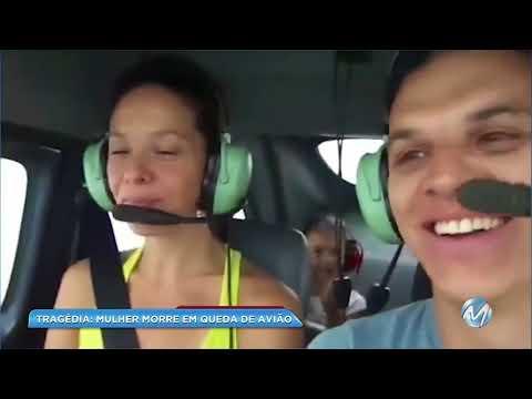 Avião cai e deixa mulher morta e dois feridos em Baependi