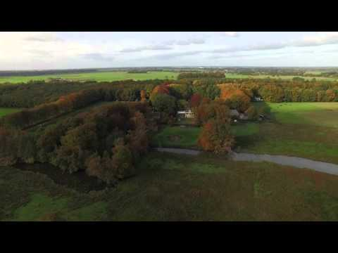 55-plussers uit Dronten gaan wandelen in de omgeving van Hoonhorst