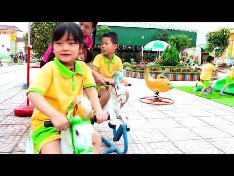 Trường mầm non Tiến Thành, Yên Thành - Xây dựng trường học xanh, sạch, đẹp, thân thiện